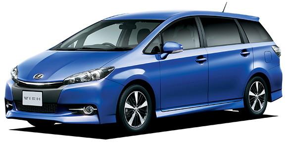 EVA коврики на Toyota Wish II 2009-2012