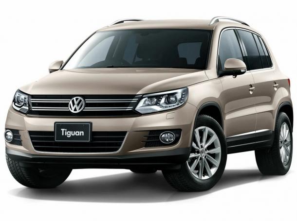 EVA коврики на Volkswagen Tiguan 2007 -2016