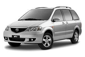 EVA коврики на Mazda MPV II (LW) (1999 - 2006) правый руль
