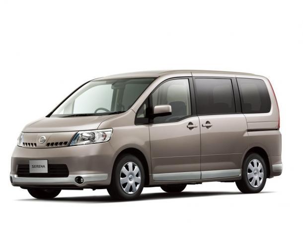 EVA коврики на Nissan Serena III (C25) 2005-2010 (правый руль)