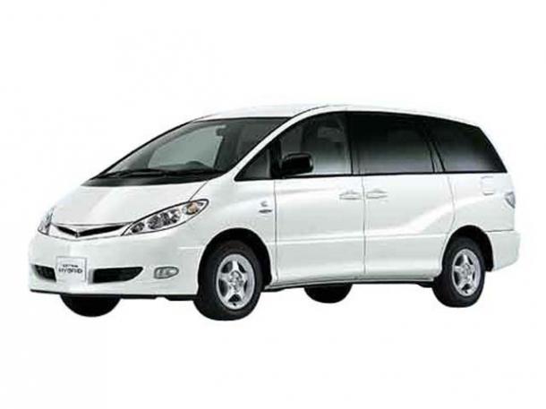 EVA коврики на Toyota Estima (PREVIA) II (правый руль) (XR40), 2000 - 2006