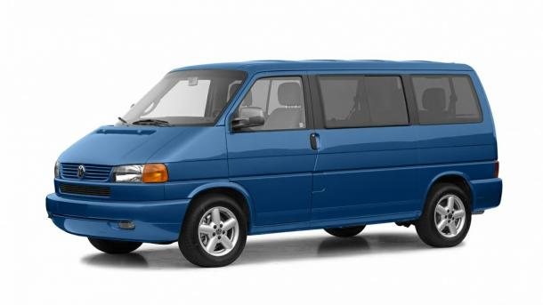 EVA коврики на Volkswagen Transporter/Caravelle/Multivan (T4) 1990 - 2003