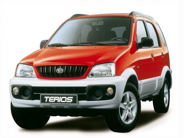 EVA коврики на Daihatsu Terios I 1997-2006