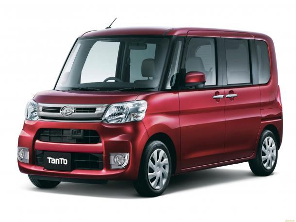 EVA коврики на Daihatsu Tanto III 2013-2019 (правый руль)