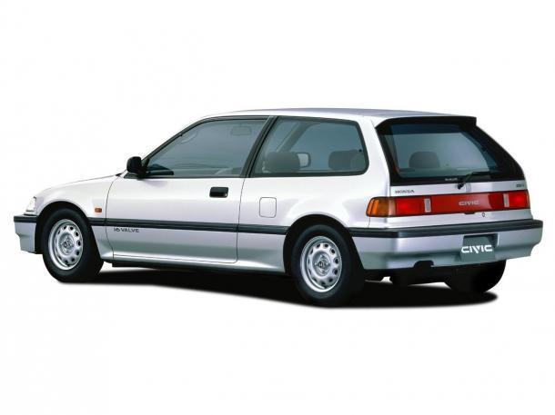 EVA коврики на Honda Civic IV (купе) 1986-1996