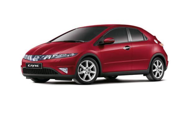 EVA коврики на Honda Civic VIII (хетчбек) 2006 - 2011