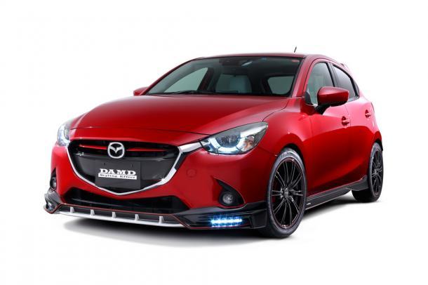 EVA коврики на Mazda Demio (DJ правый руль) 2014-2019