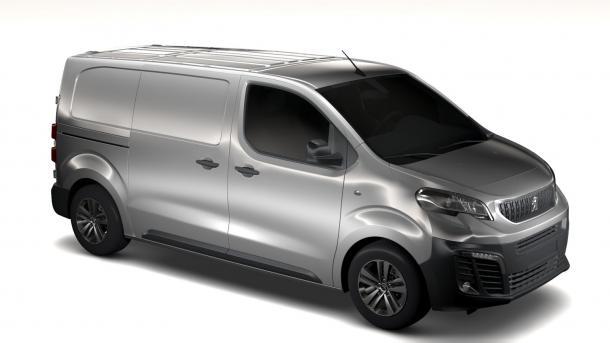 EVA коврики на Peugeot Expert  III 2016- наст. время