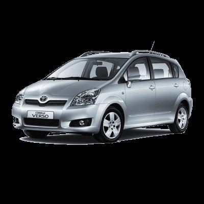 EVA коврики на Toyota Corolla Verso 2009 - 2012