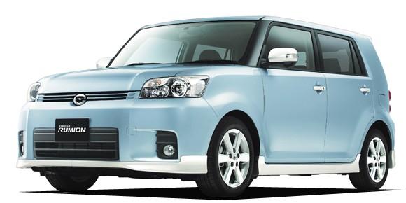 EVA коврики на Toyota Corolla Rumion (правый руль) 2007- наст. время (2WD)