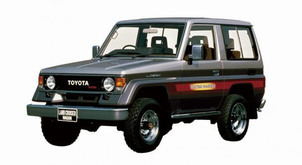 EVA коврики на Toyota Land Cruser 70 1984 – 2007 (правый руль) 3 двери