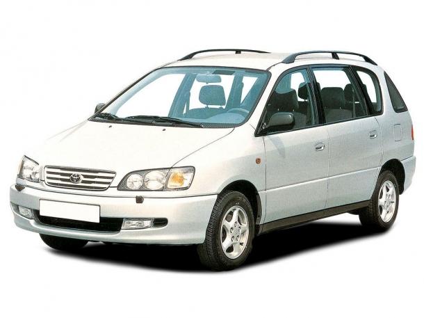 EVA коврики на Toyota Picnic (правый руль) 2001 - 2009