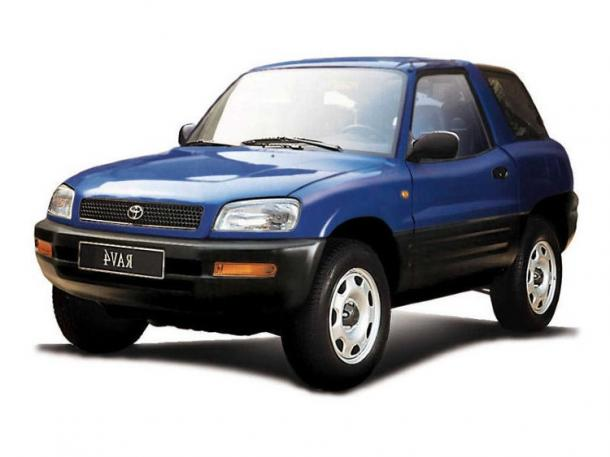 EVA коврики на Toyota RAV 4 I (XA10, 3 двери) 1995 - 2000 (правый руль)